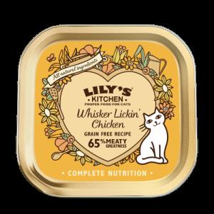Whisker lickin chicken za mačke