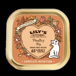 Poultry pie za mačke