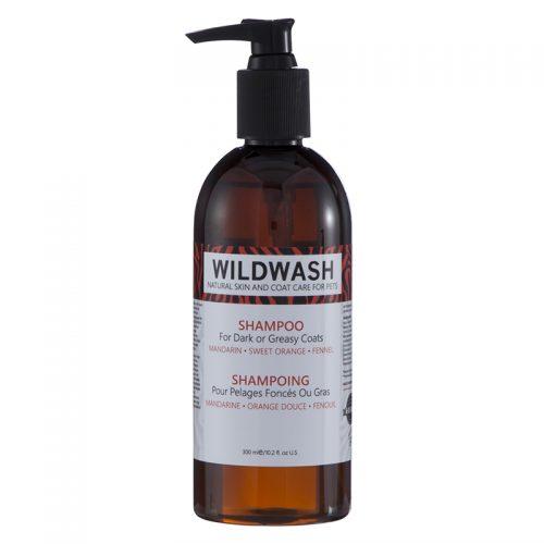 Šampon za pse s temno ali mastno dlako Wildwash