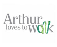 Arthur loves to walk Logo