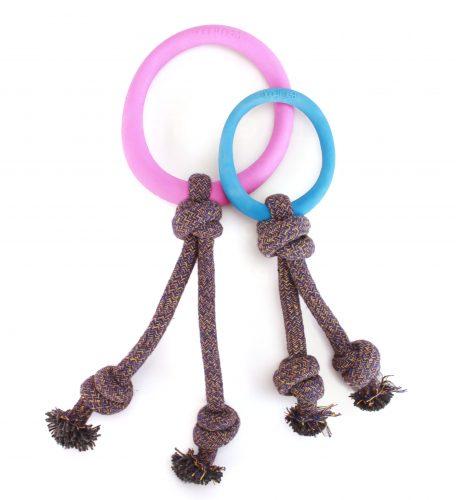 Hoop on rope