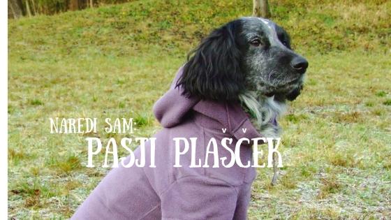 Projekt: pasji plašček iz starega puloverja