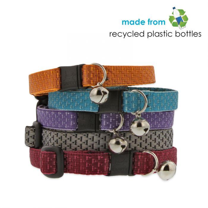 Eko ovratnica za muce iz recikliranih plastenk Lupine