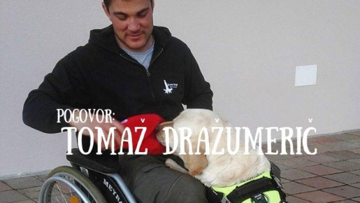 Tomaž Dražumerič: 'Pes pomočnik ni le prijatelj, ampak je življenjski partner.'