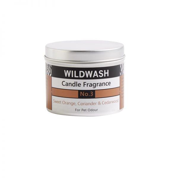 wildwash sveča dišava številka 3