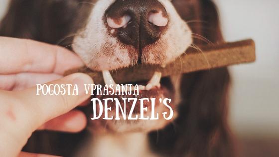 Pogosta vprašanja (FAQ) – Denzel's žvečilke za pse