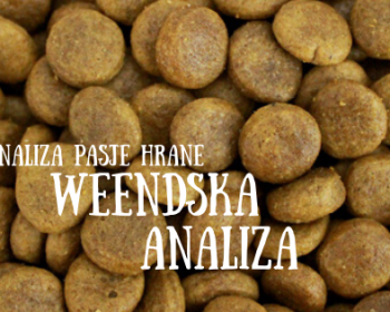 Analiza pasje hrane: Weendska analiza